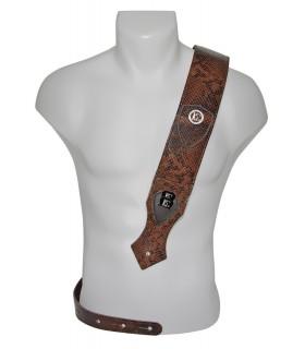 Strap leather brown fashion